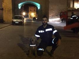 "alt=""Unidad canina localiza desaparecido Daroca"""