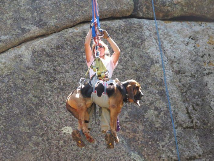 descenso con Bloodhound