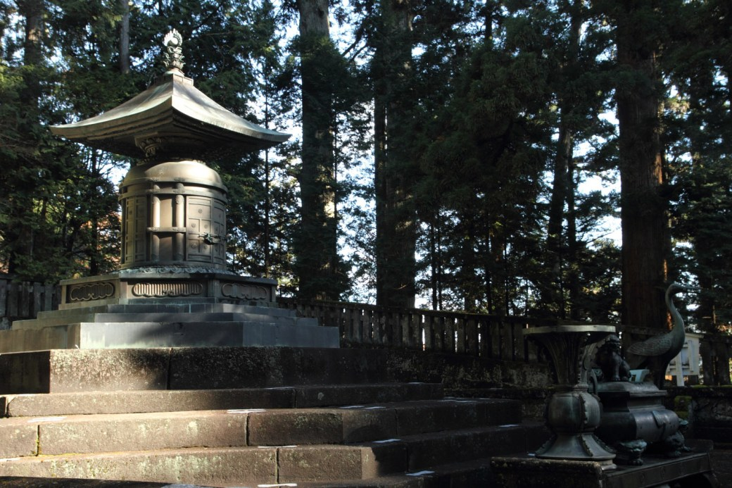 Tumba de Tokugawa Ieyasu en Toshogu, Nikko
