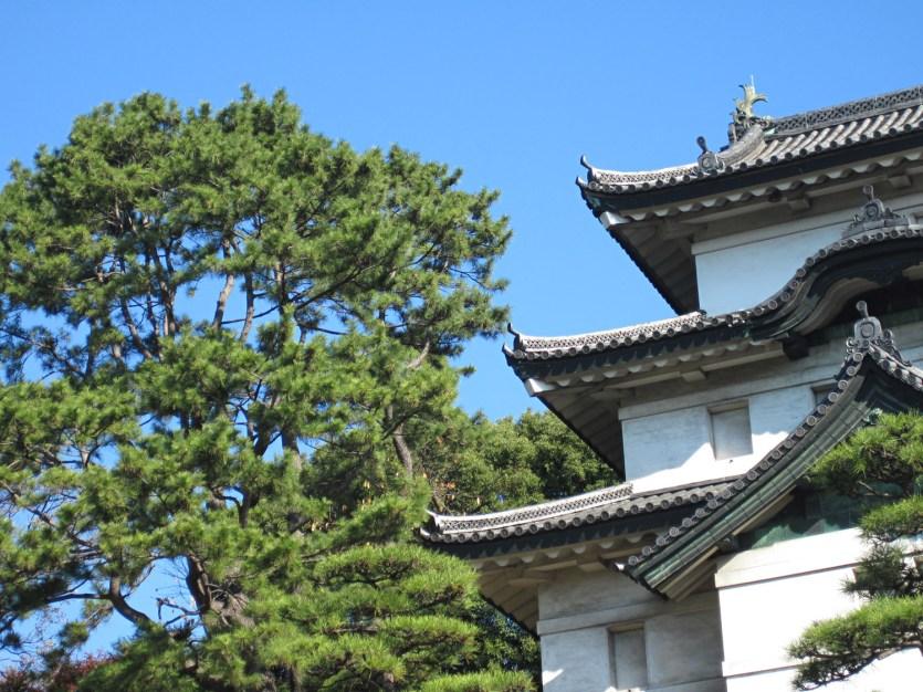 Fujimi-yagura, el observatorio del Monte Fuji en el Palacio Imperial de Tokio