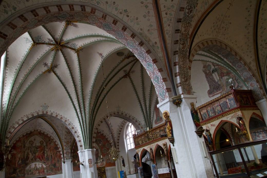 Interior del Hospital del Espíritu Santo, Lübeck, Alemania