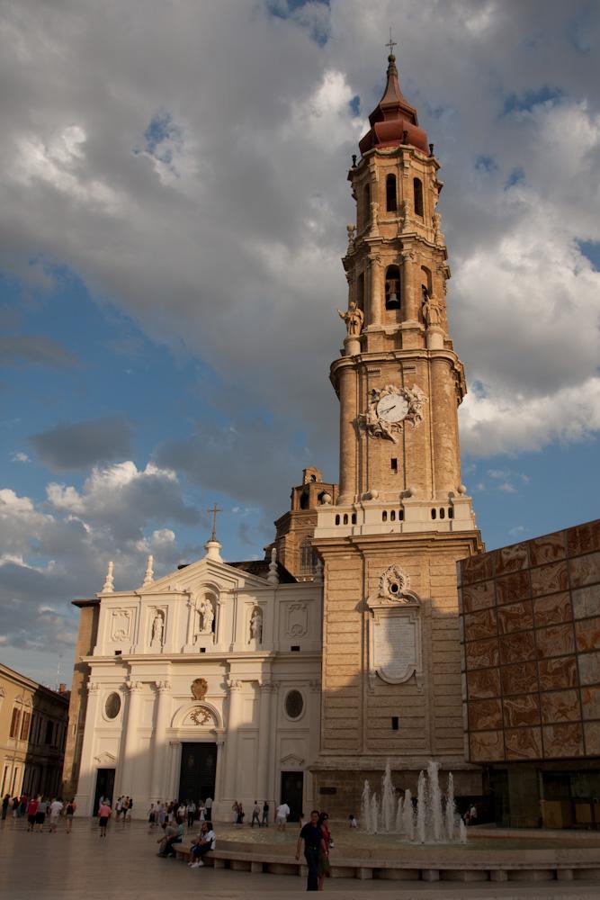 Catedral del Salvador de Zaragoza, o La Seo, España