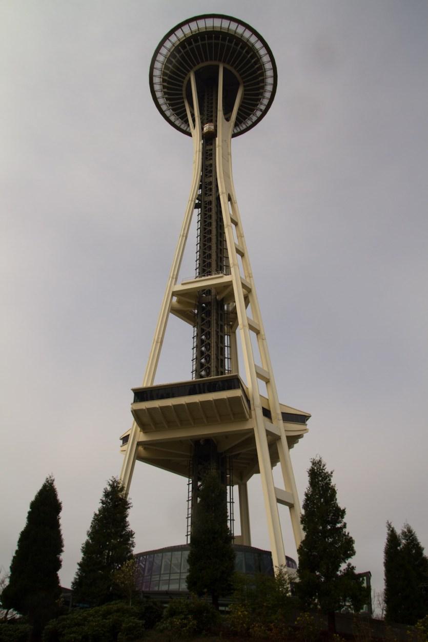 El Space Needle de Seattle, EE.UU.