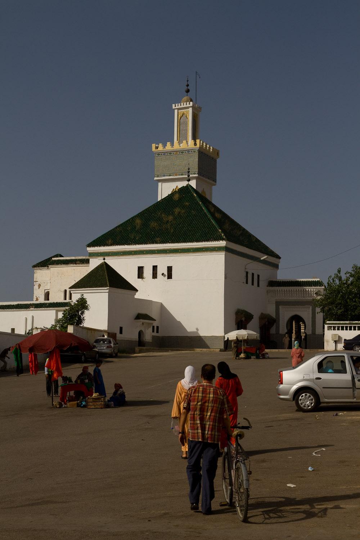 Mausoleo Mausoleo Cheikh El Kamel, hogar de la tumba de El Hadi Benaïssa - Meknès, Marruecos
