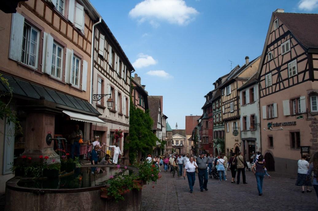 Centro histórico de Riquewihr, Francia