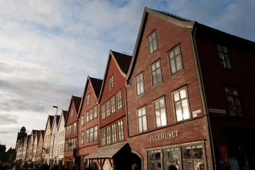 Barrio de Bryggen, Bergen, Noruega