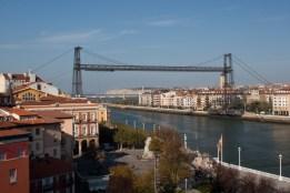 Puente de Vizcaya, Bilbao, España