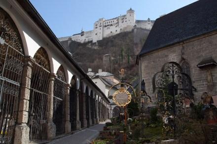 Cementerio de San Pedro, Salzburgo, Austria