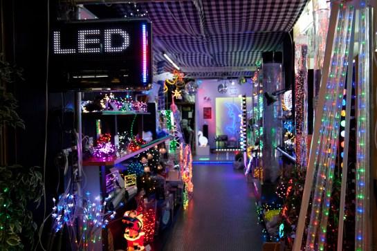 Tienda de LEDs, Nipponbashi, Osaka, Japón