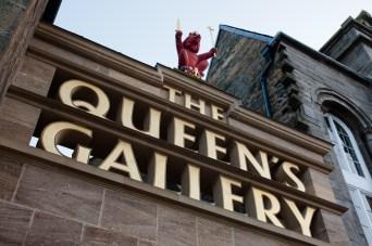 The Queen's Gallery en el Palacio de Holyrood, Edimburgo, Escocia, Reino Unido