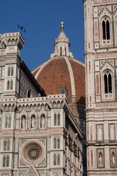 """La catedral o """"duomo"""" de Florencia, Italia"""