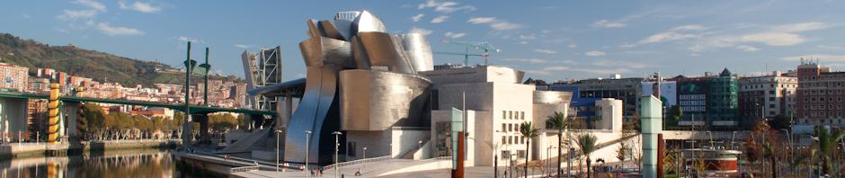 El Museo Guggenheim de Bilbao, obra de Frank Gehry