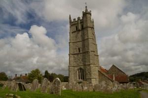 Iglesia de St. Mary en Carisbrooke, Isla de Wight, Reino Unido