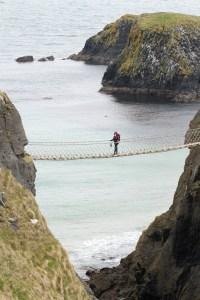 Puente de Carrick-a-Rede, Causeway Coast, Irlanda del Norte