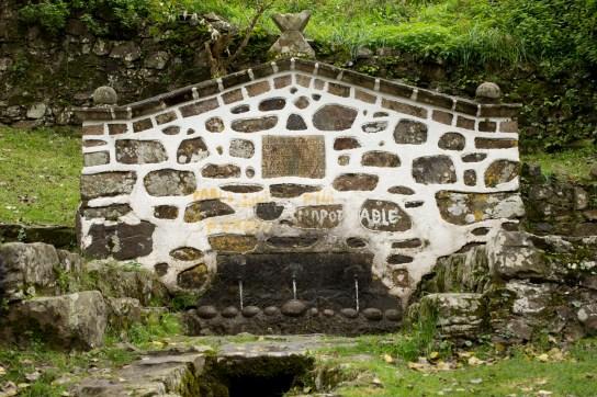 La fuente santa de San Andrés de Teixido, España
