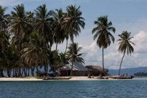 Isla del archipiélago de San Blas o Guna Yala, Panamá