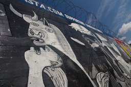 Mural del Guernica de Picasso, Belfast, Irlanda del Norte