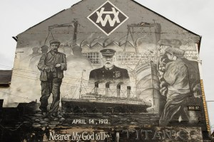 Mural del RMS Titanic, Belfast, Irlanda del Norte