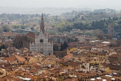 Barrio y basílica de la Santa Croce, Florencia, Italia