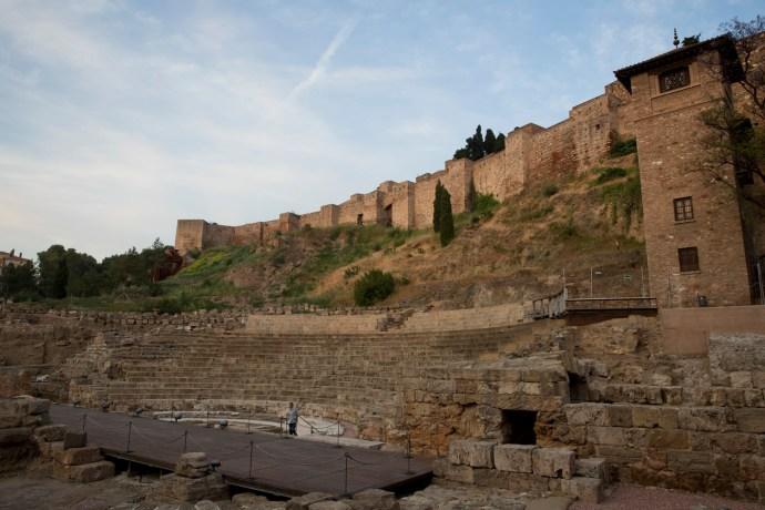 Lunes 13 — Teatro romano y alcazaba, Málaga, España