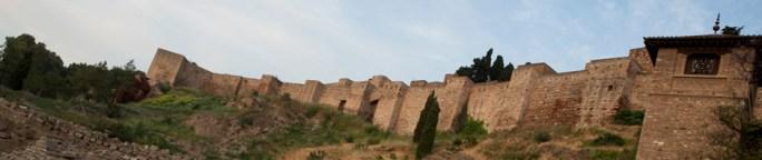 Teatro romano y alcazaba de Málaga, España