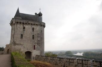 Castillo de Chinon, Francia