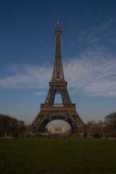 La Torre Eiffel y el Campo de Marte, París, Francia