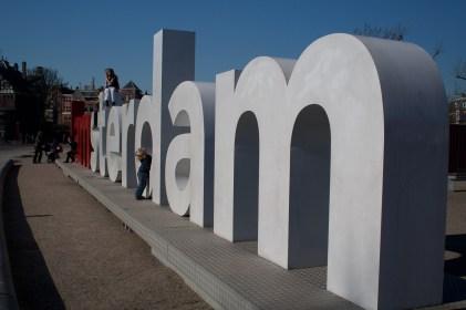 Letrero de iamsterdam, Ámsterdam, Países Bajos