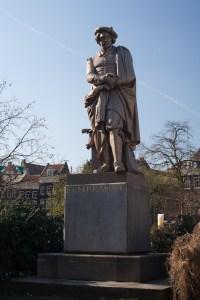 Monumento a Rembrandt, Ámsterdam, Países Bajos