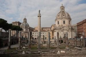 Foro de Trajano, Roma, Italia