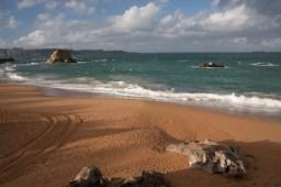 Playa de El Camello, Santander, España