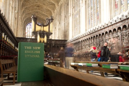 Coro de la capilla de King's College, Cambridge, Inglaterra