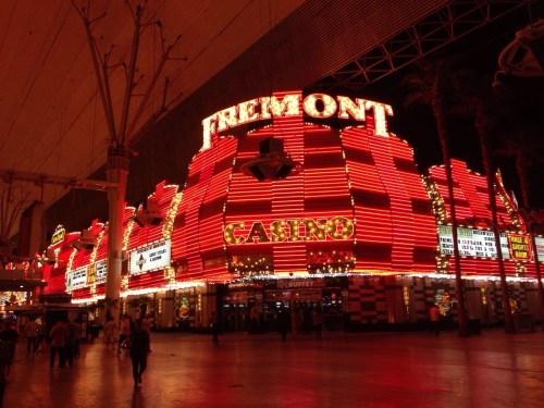 Hotel en Fremont Street en Downtown Las Vegas
