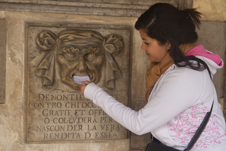 Bocca di Leone en el Palacio Ducal de Venecia
