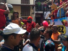 Culecos en carnavales en Las Tablas