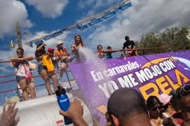 Culecos en carnavales en Panamá