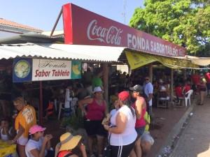La fonda Sabor Tableño, cerca del parque Porras de Las Tablas