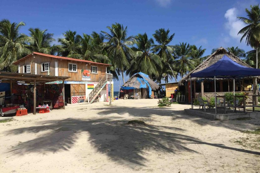 Isla Aguja, archipiélago de Guna Yala o San Blas, Panamá