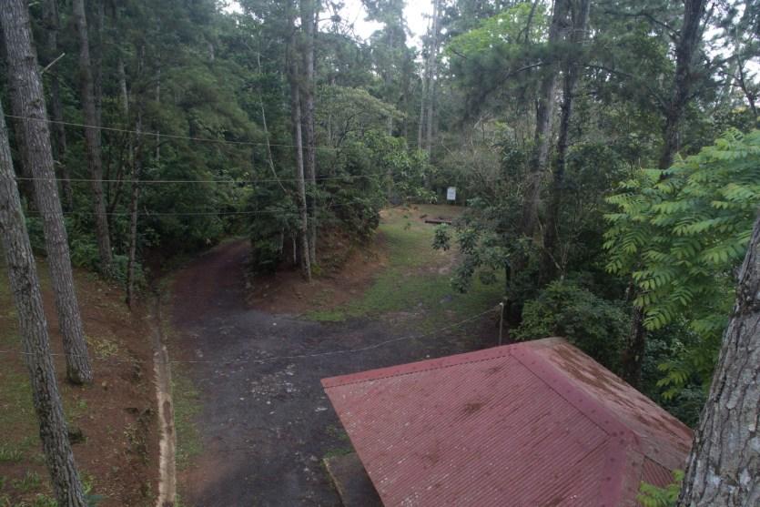 Zona de camping del parque nacional Altos de Campana, Panamá