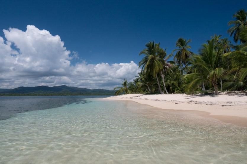 Isla Inglesa o Ilestup, archipiélago de Guna Yala, Panamá