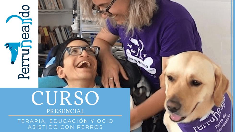 Curso Terapia Educación y Ocio Asistido con Perros en Málaga