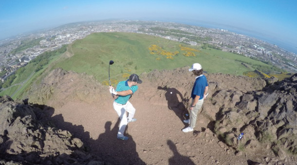 Bryan Bros GoPro on Visit Scotland