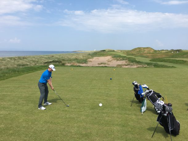 The Ailsa Course at Trump Turnberry - New 4th hole - PerryGolf.com