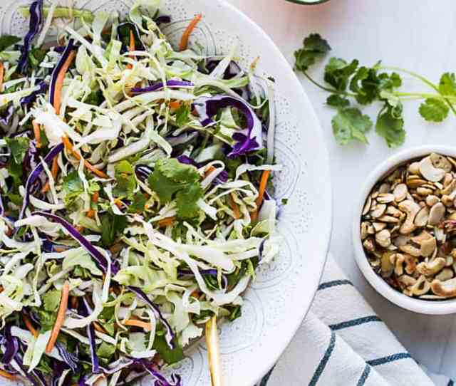 Paleo Whole30 Asian Chopped Salad A Fresh Healthy Copycat Of The Salad