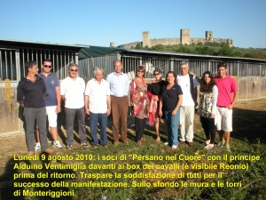 """Grande successo di """"Persano nel Cuore"""" in terra di Toscana il 7 e 8 agosto!"""