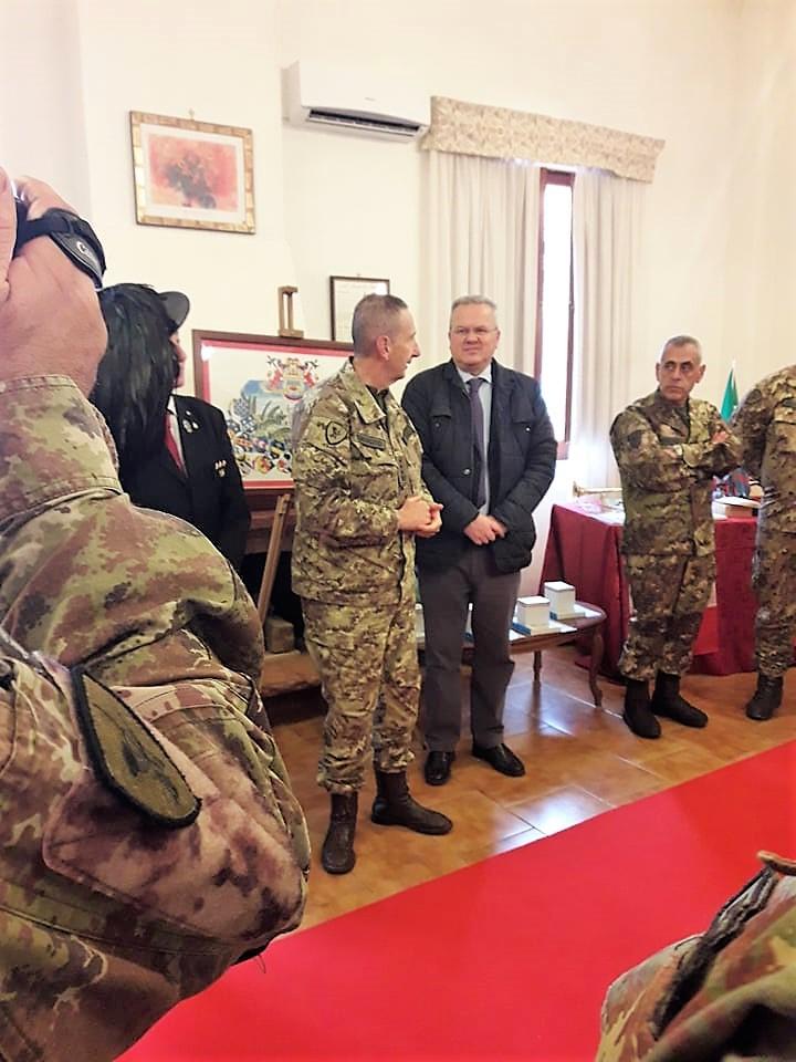 """Persano: inaugurata la """"Sala storica"""" nella Caserma Cucci"""