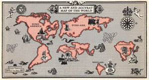 «New and accurate map of the world»