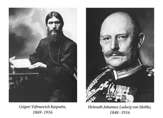 Rasputin, Moltke, Editorial TPA Vol1, No. 10 NEW
