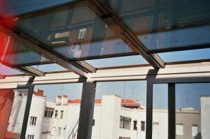 techo acristalado
