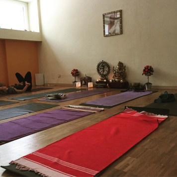 I'm done for today! Intensive #astangayoga workshop all the WE in Milan